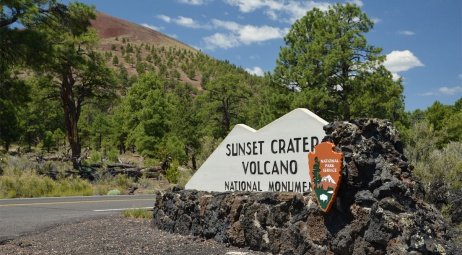 Sunset Crater Volcano AZ