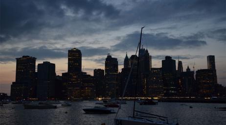 Skyline - Bord de l'East River côté Brooklyn