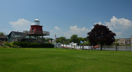 Sheboygan WI, Two Rivers (french side)