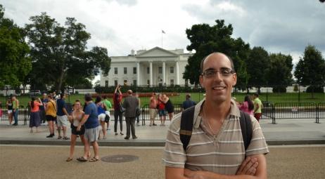 Washington D.C., devant la Maison Blanche