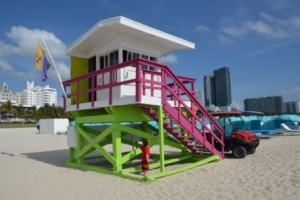 Lifeguard house - Miami Beach