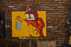 Leonard Zimmerman Jr - robot