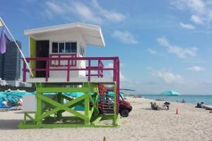 Miami Beach, maison sauveteur - ETAPE 1 Floride