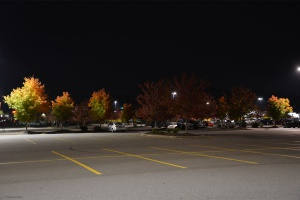 Fall Great Smoky - parking Walmart, nuit