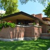Chicago, Frank Lloyd Wright house