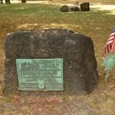 Boston, tombe de Samuel Adams signataire de la Déclaration d'Indépendance