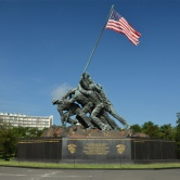 Washington D.C, Iwo Jima Memorial à Arlington Cemetery