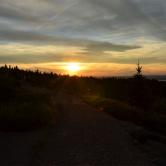 Acadia, coucher de soleil