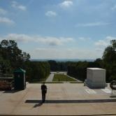 Washington D.C, Arlington Cemetery - garde devant la tombe du soldat inconnu