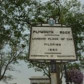 Plymouth, pays des Pilgrims (les premiers immigrants venus du vieux continent)